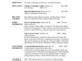 Pre Nursing Student Resume Examples Cover Letters for Nursing Job Application Pdf Nursing