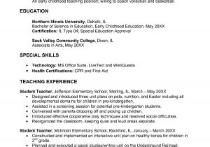 Pre Primary School Teacher Resume Sample Awesome Pre Primary School Teacher Resume Sample