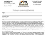Preliminary Contract Template 15 Roofing Contract Templates Word Pdf Google Docs