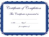 Premarital Counseling Certificate Of Completion Template Certificate Templates