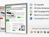 Premium Mailchimp Templates Shootit Premium Email Template Mailchimp and