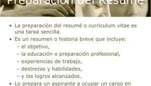 Preparacion De Resume Profesional Capitulo 4 Preparacion Del Resume