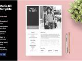 Press Packet Template 20 Media Kit Templates to Pitch Your Blog to Brands and
