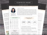 Press Packet Template Media Kit Template the Modern Darling Mac or Pc Word and