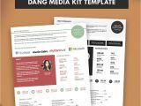 Press Packet Template Press Kit Media Kit Template Dang Blogger Media Kit Pitch