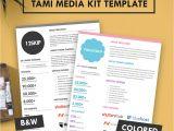 Press Packet Template Tami Media Kit Template Hip Media Kit Templates