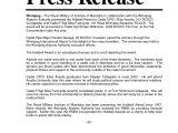 Press Release Calendar Template Release Press Release Template