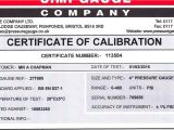 Pressure Gauge Calibration Certificate Template Sentinel Steam Loco 7109 Certified Gauges