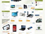 Presta Shop Templates Electronics Prestashop theme Templatemela