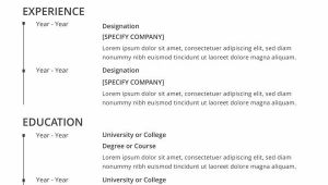 Print Free Blank Resume 46 Blank Resume Templates Doc Pdf Free Premium