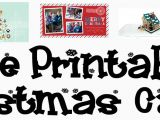 Print Your Own Christmas Cards Templates Free Printable Christmas Card Templates Allcrafts Free