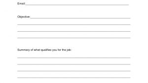 Printable Blank Resume Paper Resume Design Blank Resume Template Sample Blank Resume