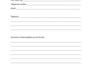 Printable Blank Resume Template Free 13 Best Images Of Simple Resume Worksheet College Brag
