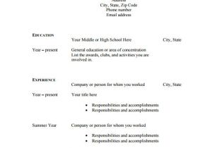 Printable Blank Resume Template Free 46 Blank Resume Templates Doc Pdf Free Premium