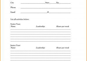 Printable Blank Resume Template Free Blank Resume Template Printable Shop Fresh
