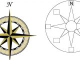 Printable Compass Rose Template Compass Rose Template Clipart Best