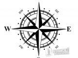 Printable Compass Rose Template Compass Stencil Crafty Crap Pinterest Compass