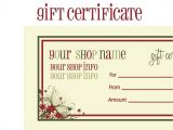 Printable Gift Certificate Template Free Printable Christmas Gift Certificates Search