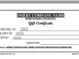 Printable Gift Certificate Template Printable Gift Certificate Template Cool Trials Ireland