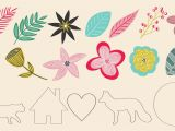 Printable Greeting Card App for Ipad Modern Florals On Your Ipad In Procreate 22 Free Stamps