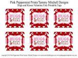 Printable Happy Teachers Day Card Freebie Hugs and Kisses Valentine Free Printable Tag Card