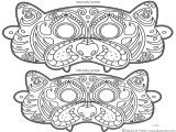 Printable Mask Templates Adults Best Photos Of Printable Face Masks for Adults Full Face