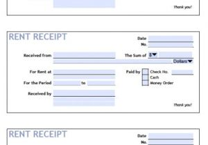 Printable Rent Receipt Template Download Printable Rent Receipt Templates Pdf Word