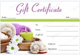 Printable Salon Gift Certificate Templates 50 Spa Gift Certificate Designs to Try This Season