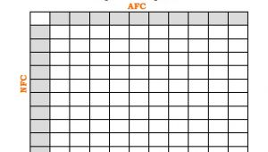 Printable Super Bowl Block Pool Template 19 Football Pool Templates Word Excel Pdf Free