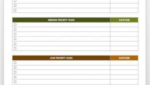 Prioritizing Tasks Template 28 Free Time Management Worksheets Smartsheet