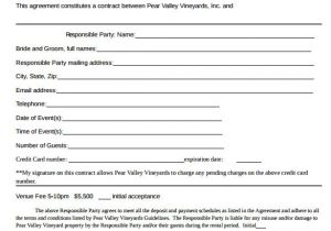 Private event Contract Template event Contract Template 25 Download Documents In Pdf