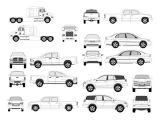 Pro Vehicle Templates Pro Vehicle Outlines Free Vector In Adobe Illustrator Ai