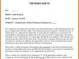 Probation Meeting Template 8 9 90 Day Probation Letter Resumetablet