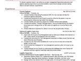 Process Engineer Resume Process Engineer Resume Sample Engineering Resumes