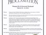Proclamation Templates Examples Of Honoring someone Just B Cause