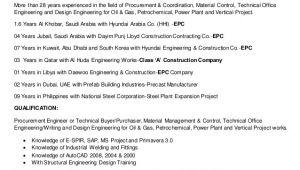 Procurement Engineer Resume Resume M2016 Procurement Engineer and Buyer