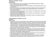 Product Analyst Resume Sample Product Control Analyst Resume Samples Velvet Jobs
