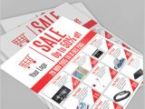 Product Sale Flyer Template Sale Flyer Free Psd Template Download On Behance