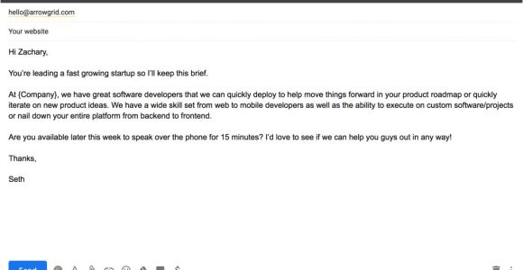 Product Sales Email Template 16 B2b Cold Email Templates that Sales Experts Swear by