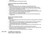 Production Engineer Responsibilities Resume 8 Die Msbi Entwicklerprobe Wird fortgesetzt