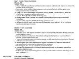 Production Engineer Responsibilities Resume Production Engineer Resume Samples Velvet Jobs