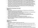 Production Engineer Responsibilities Resume Production Engineering Resume Samples Velvet Jobs