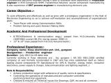 Production Engineer Resume Download Sanjay Resume Electronic Engineer Production