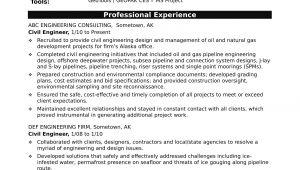 Professional Engineer Resume Sample Resume for A Midlevel Civil Engineer Monster Com