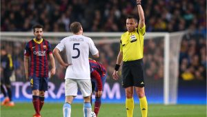 Professional Football Yellow Card Fine Champions League Yellow Card Rule
