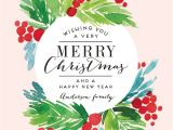 Professional Holiday Greeting Card Messages Send Out This Year S Christmas Holiday Card Greeting In