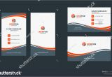 Professional Id Card Design software Double Sided Creative Business Card Template Portrait and