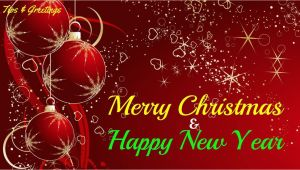 Professional New Year Greeting Card Merry Christmas and Happy New Year Greetings for Everyone