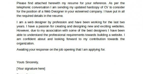Professional Resume Cover Letter Template 10 Professional Cover Letter Template Examples to Download