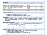 Professional Resume format for B.com Freshers Sample Of A Beautiful Resume format Of Mba Fresher